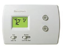 A-Peoria Plumbing Heating & Cooling thermostat